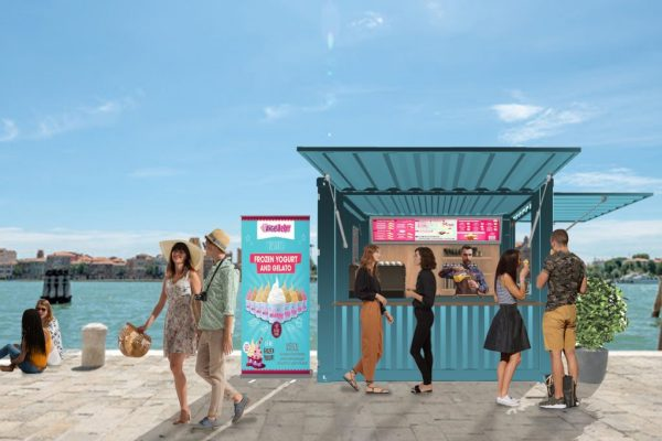 Kiosk Container